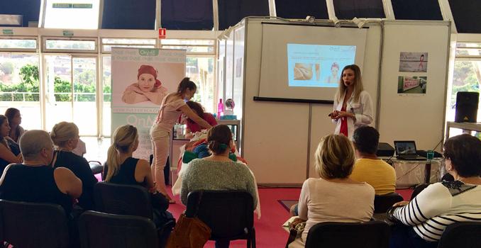 Proyecto OnME participa en la Feria de Estética y Peluquería de Canarias